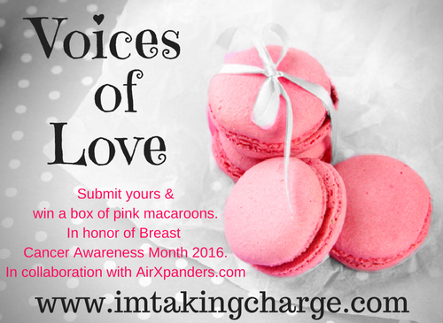2016 Voices of Love Contest: Encourage Women and Win Pink Macaroons